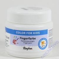 Fingerfarbe weiß