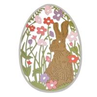 Sizzix Thinlits Die - Meadow Rabbit