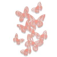 Sizzix Thinlits Die Set 3PK - Butterflies