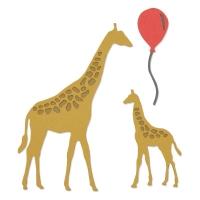 Sizzix Thinlits Die Set 5PK - Giraffes
