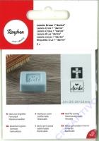 Label Kreuz + Danke