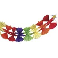 Papier-Girlande Cross-Shape