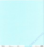 Rayher Scrapbook-Papier Glitter-Dots hellblau