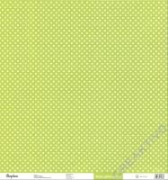 Rayher Scrapbook-Papier Glitter-Dots lindgrün