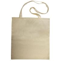 Baumwoll-Tasche, unbedruckt, beige, 38x42 cm LANGE HENKEL