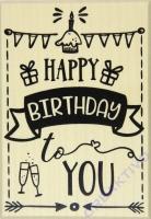 Rayher Stempel Happy Birthday