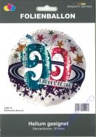 Folienballon Glückwunsch Sterne 90