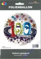 Folienballon Glückwunsch Sterne 100
