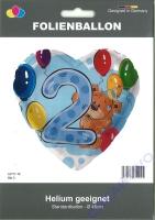 Folienballon Bär 2