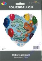 Folienballon Bär 3