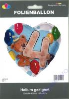 Folienballon Bär 4