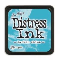Ranger disress mini ink broken china