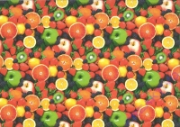 Motiv-Fotokarton 300g/qm 49,5x68cm Früchte