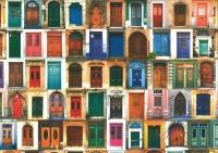 Motiv-Fotokarton 300g/qm 49,5x68cm Alte Türen