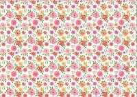 Motiv-Fotokarton 300g/qm 49,5x68cm Aquarell - Blumen