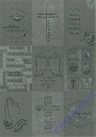 Designkarton Kondolenz Motiv 1