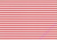 Streifen-Fotokarton 300g/qm 49,5x68cm rot/weiß