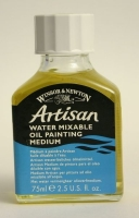 Artisan water mixable oil painting medium