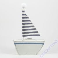 Holz-Segelboot