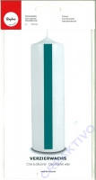 Rayher Wachsfolie, 20x10 cm, 2 Stück, helltürkis
