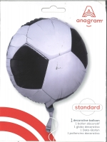Folienballon Fußball 43cm