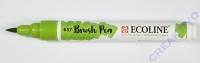 Talens Ecoline Brush Pen bronzegrün