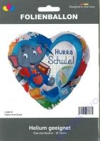 Folienballon Elefant Hurra Schule