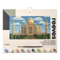 Malen nach Zahlen - Taj Mahal