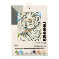 Malen nach Zahlen Junior - Weßer Tiger
