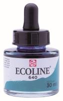 Ecoline 30ml blaugrün