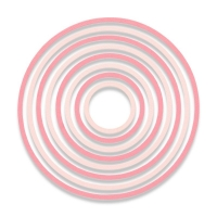 Sizzix Thinlits Die Set 8PK - Concentric Circles