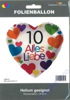 Folienhert 10 Alles Liebe