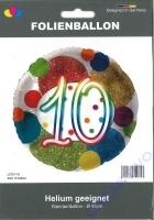 Folienballon 10