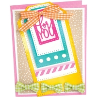 Sizzix Framelits Dies By Stephanie Barnard - Dotted tags