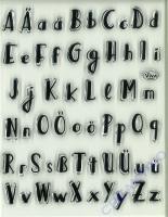 Silikon-Stempel Lettering Alphabet