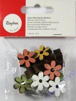 Rayher Holzstreuteile Blüten