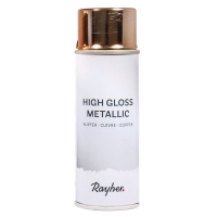 Rayher High Gloss Metallic Spray kupfer