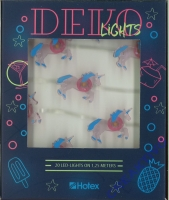 LED-Lichterkette Einhorn