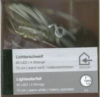 LED-Lichterschweif 60 LED 4 Stränge