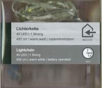 LED-Lichterkette 40 LED 1 Strang