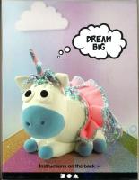 Silk Clay Foam Clay DIY-Kit Unicorn Baby Blue