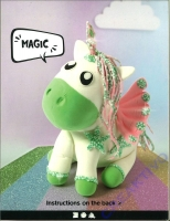 Silk Clay Foam Clay DIY-Kit Unicorn Baby Bibi