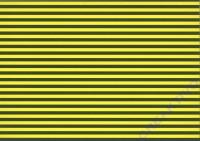 Streifen-Fotokarton 300g/qm 49,5x68cm gelb/schwarz