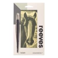 Scraperfoil Kratzfolie Pferd 11x18cm