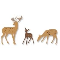 Sizzix Thinlits Die Set 6PK - Woodland Deer