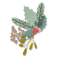 Sizzix Thinlits Die Set 8PK - Winter Foliage
