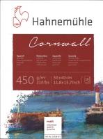 Hahnemühle Cornwall Aquarell-Block 30x40cm matt