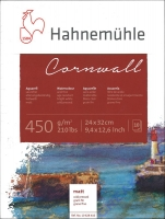 Hahnemühle Cornwall Aquarell-Block 24x32cm matt