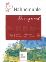 Burgund Aquarellblock 324 x 32cm 20 Blatt rau