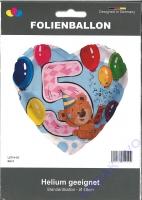 Folienballon Bär 5
